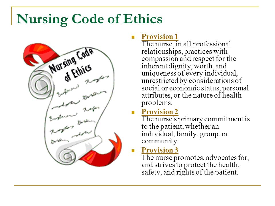 Ethics Dating Patients