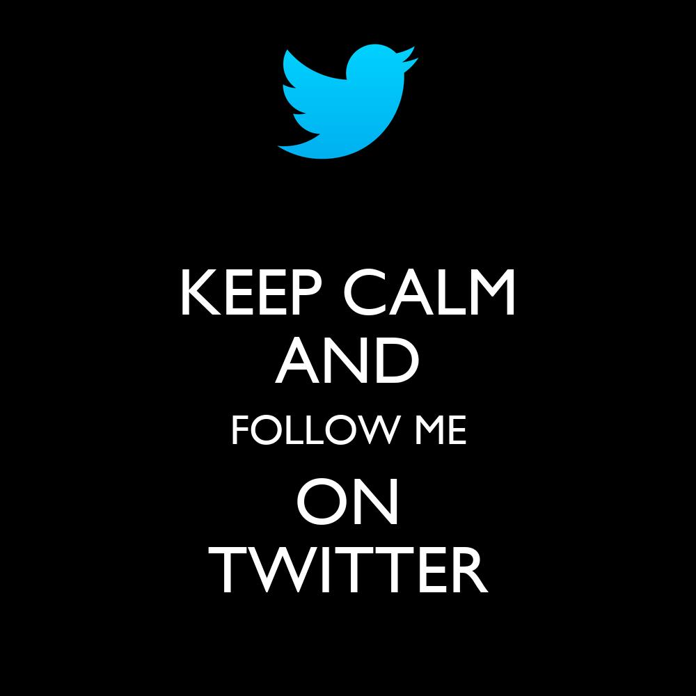 Me Twitter Follow On