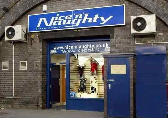Nice n Naughty Liverpool Sex Shops