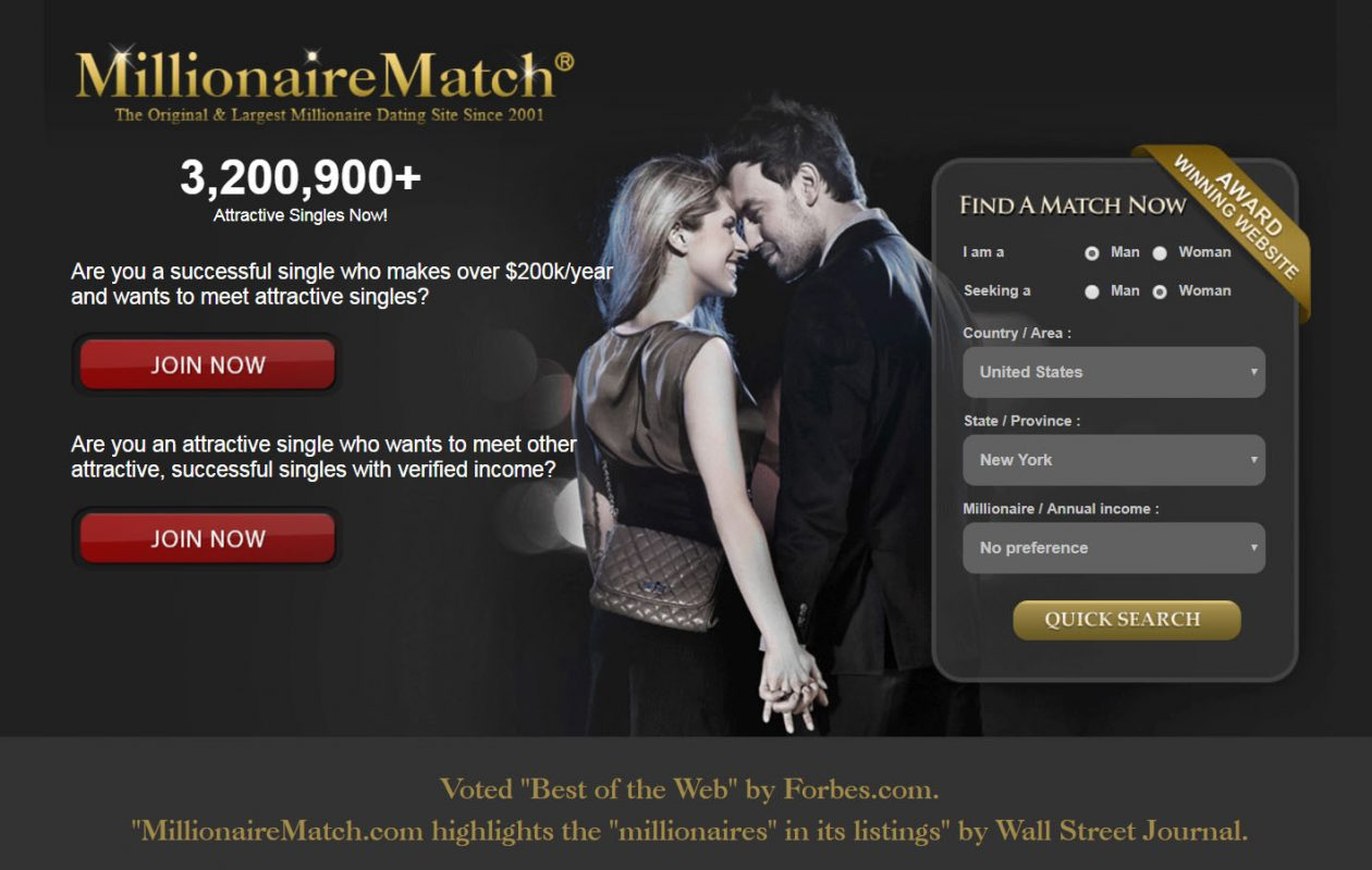 Online Dating Site For Millionaires