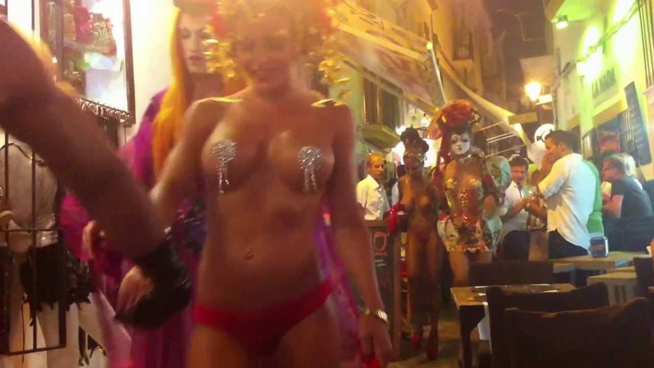 Whistler Night Club Fuerteventura Spain In In Girls