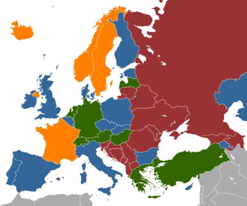 Destinations Europe In Sex 20 Top