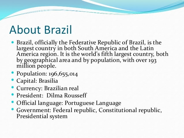 Dating And Marriage Traditions In Brazil