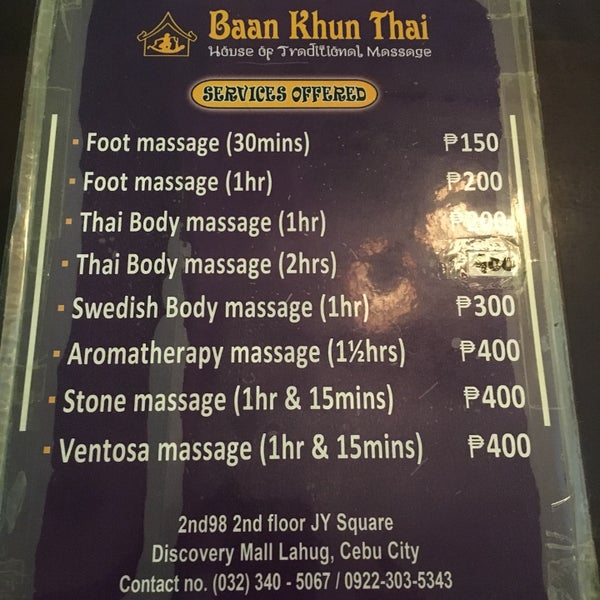 Calabria Thai Massage