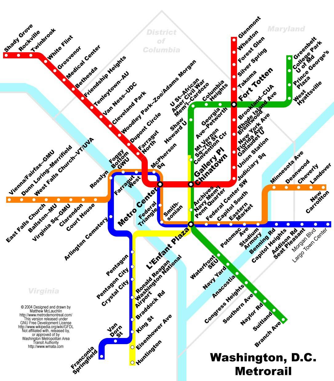 Metro Are Dc Washington Haverhill
