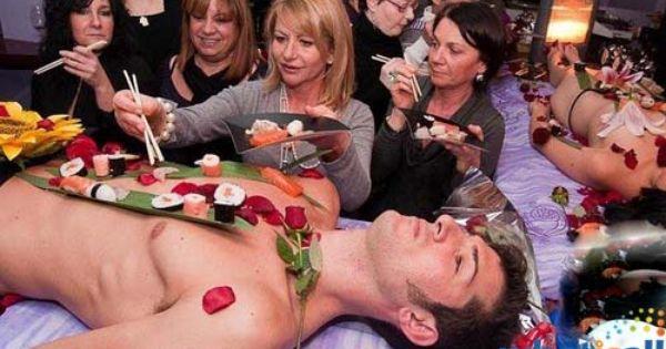 Nyotaimori Naked Body Sushi In Montreal