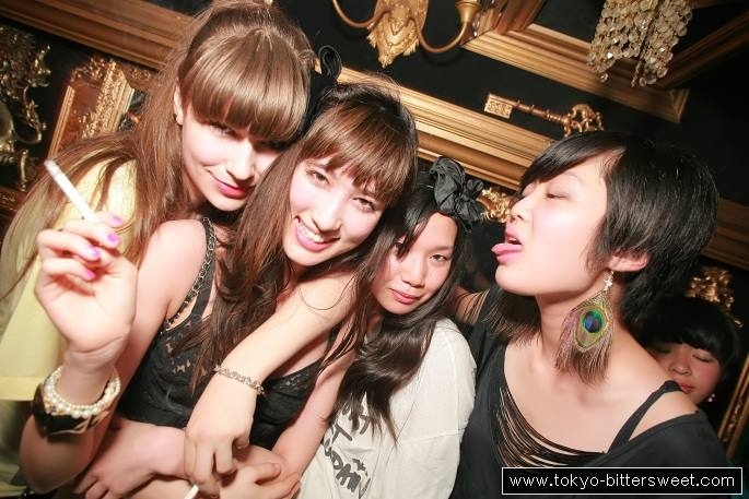 Duffren Kobe Japan In In Club Night Girls Platz