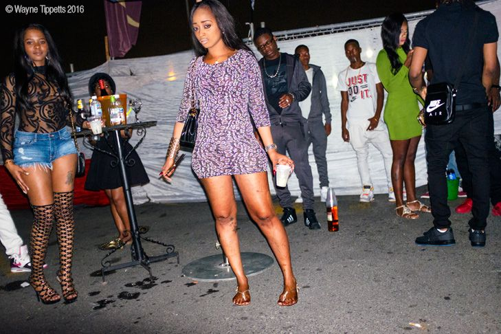 Girls In Night Club In Kingston Jamaica