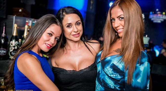 Girls In Night Club In Fuerteventura Spain