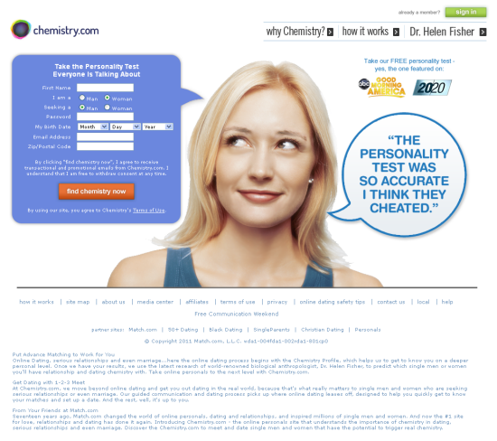 Dating Cost Chemistry Site