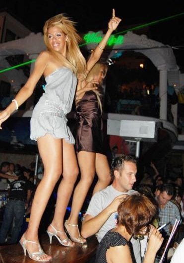 Girls In Night Club In Cali Colombia