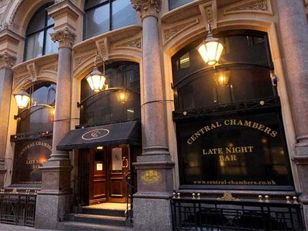 Society Strip Central Chambers Club Bristol